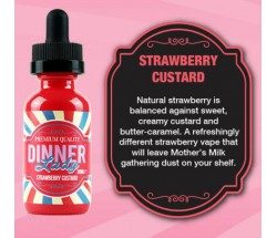 Dinner Lady Strawberry Custard