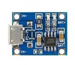 Контроллер/плата заряда TP4056 1A 4.2V